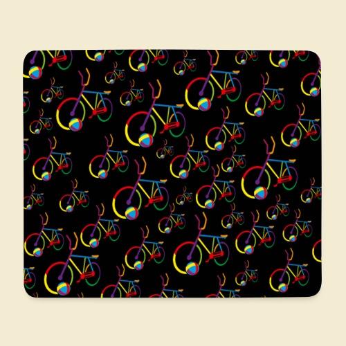 Radball | Cycle Ball Rainbow | Muster - Mousepad (Querformat)