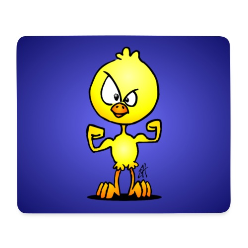 Power chick - Mouse Pad (horizontal)