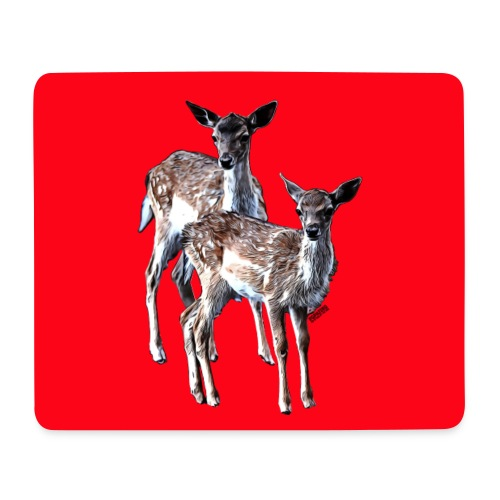 POPIIZERO - THE BAMBIS RED - Mousepad (Querformat)