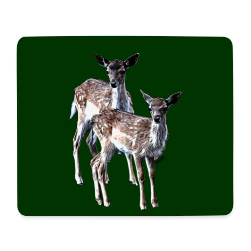 POPIIZERO - THE BAMBIS DEEP FOREST - Mousepad (Querformat)