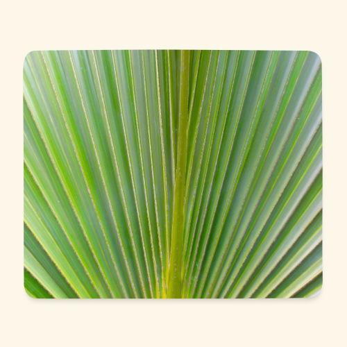 Blatt einer Palme auf einer Insel in der Karibik - Mousepad (Querformat)