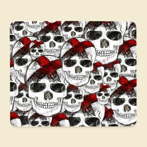 Radball | Skull Maske - Mousepad (Querformat)
