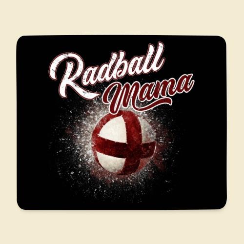 Radball | Mama Maske - Mousepad (Querformat)