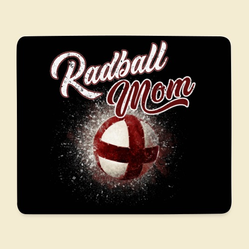 Radball | Mom Maske - Mousepad (Querformat)