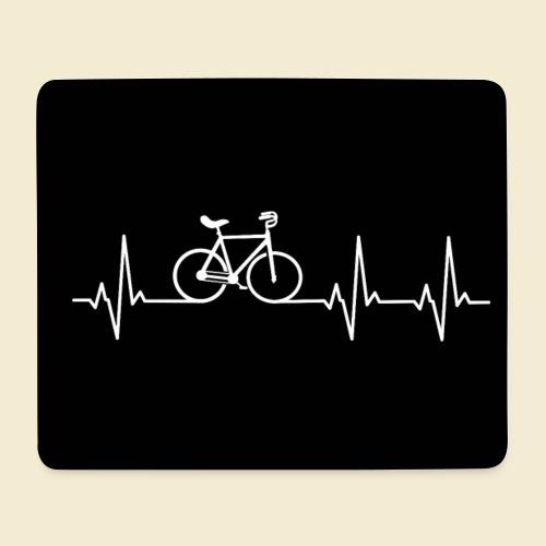 Kunstrad | Heart Monitor Maske - Mousepad (Querformat)