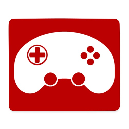 Logo mit Hintergrund - Mousepad (Querformat)