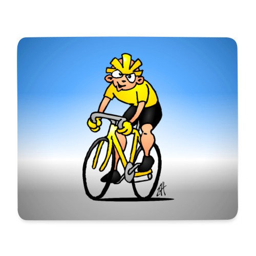 Cyclist - Mouse Pad (horizontal)