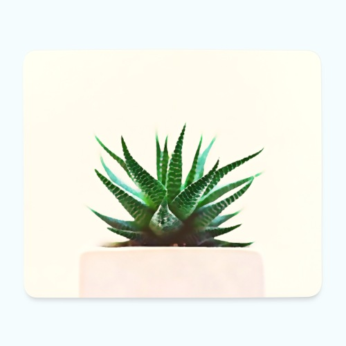 Simple plant minimalism watercolor - Mouse Pad (horizontal)