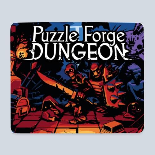 Puzzle Forge Dungeon BoxArt - Tapis de souris (format paysage)