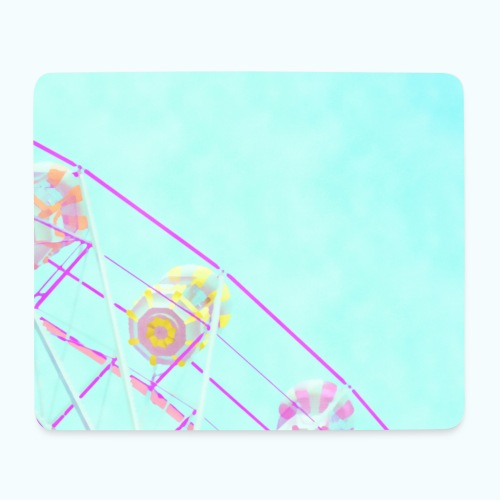 Fairy pastel watercolor - Mouse Pad (horizontal)