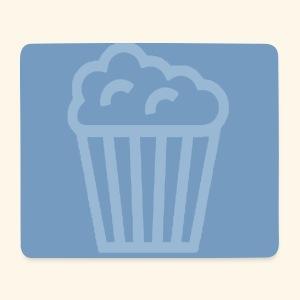 Badge bleu JustPlayingStudio.com - Tapis de souris (format paysage)