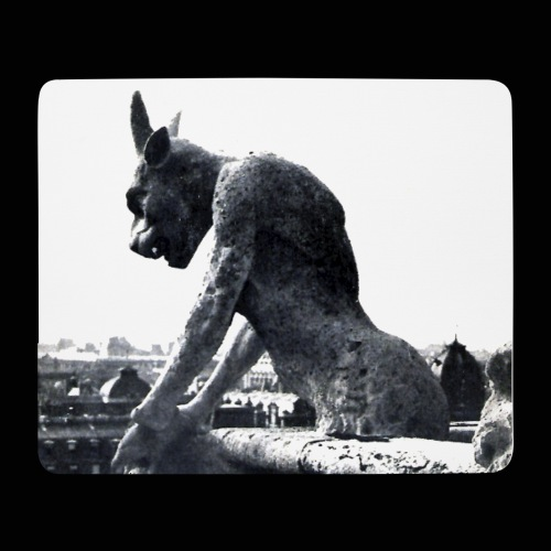 Ceremonies' Iconic Gargoyle - Tapis de souris (format paysage)