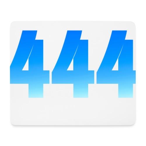444 annonce que des Anges vous entourent. - Tapis de souris (format paysage)