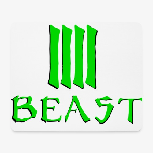 Beast Green - Mouse Pad (horizontal)