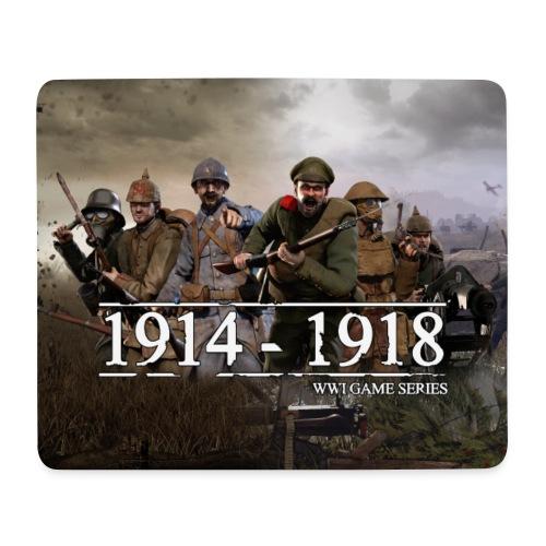 WW1 Game Series Mouse Mat - Muismatje (landscape)