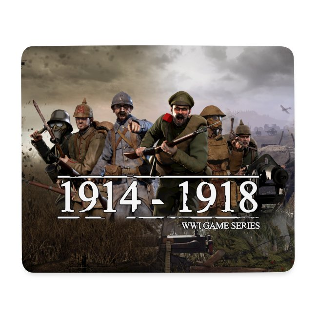 Classic WW1 Game Series Mouse Mat