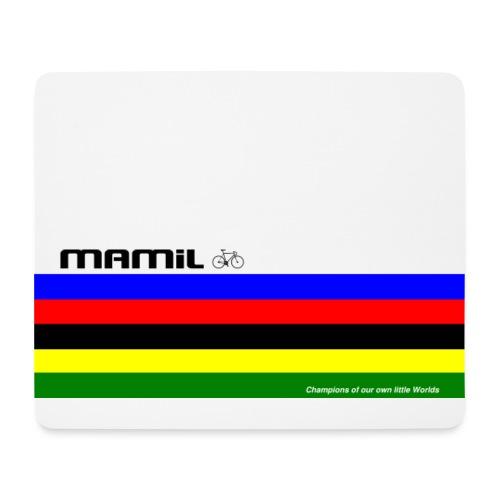 mamil world champion - Mouse Pad (horizontal)