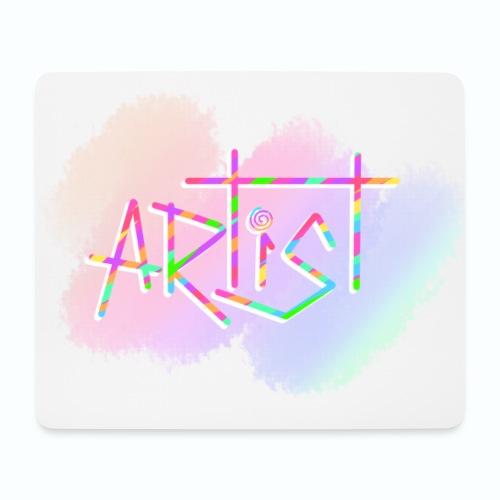 Artist in Colors - Alfombrilla de ratón (horizontal)