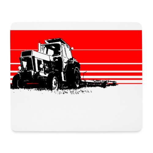 Sunset tractor - Tappetino per mouse (orizzontale)