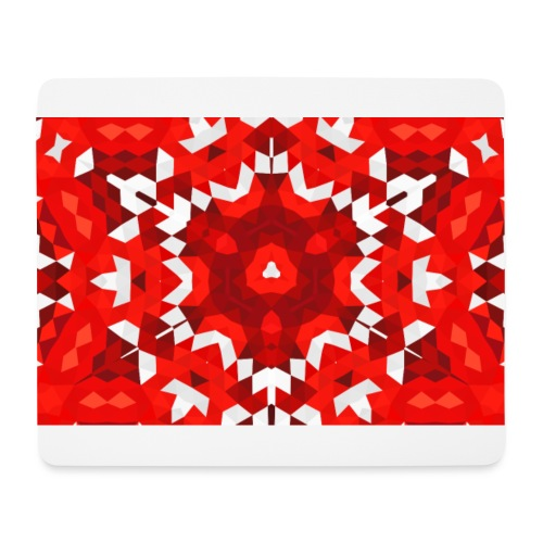 red & white - Tapis de souris (format paysage)
