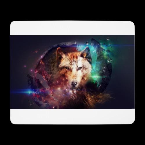 Lobo extraordinario - Alfombrilla de ratón (horizontal)