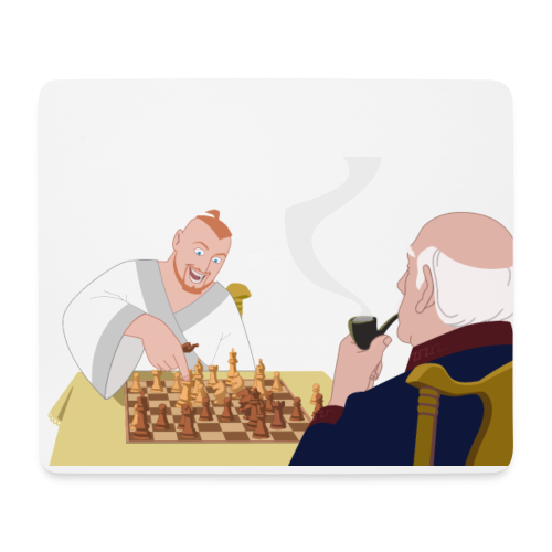 Put that in your pipe and smoke it! - Mouse Pad (horizontal)