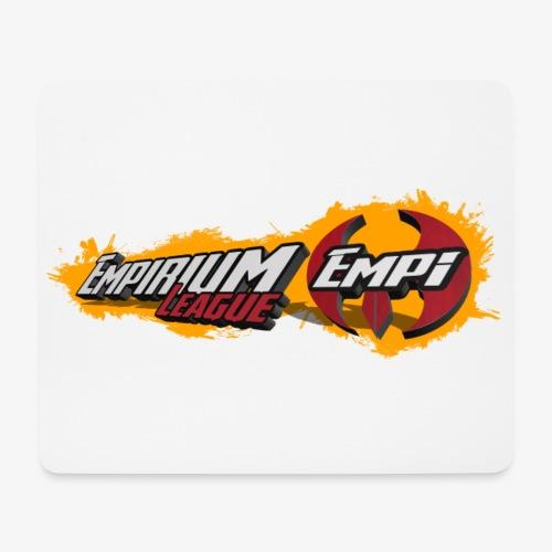 Logo EMPi fond jaune - Tapis de souris (format paysage)