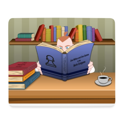 Reading - Mouse Pad (horizontal)
