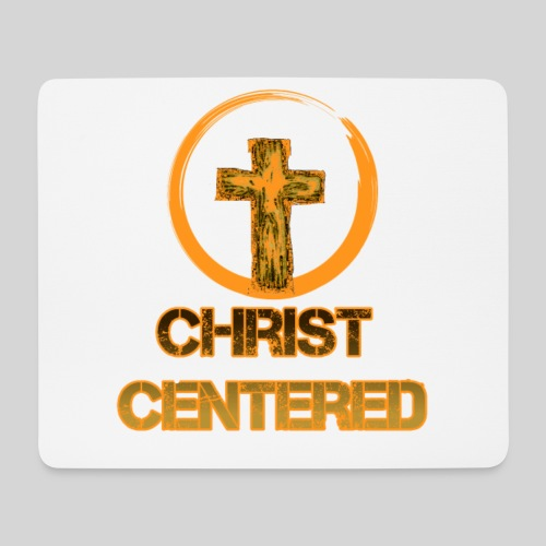 Christ Centered Focus on Jesus - Mousepad (Querformat)