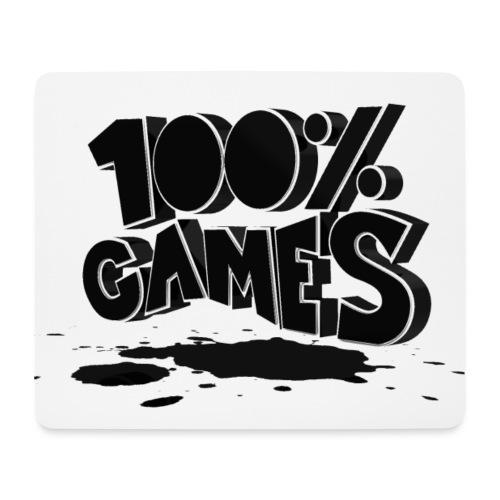 100% - Mousepad (Querformat)