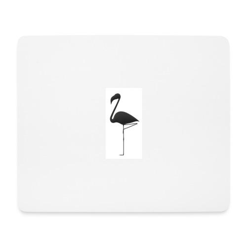 Silhouette Fenicottero - Tappetino per mouse (orizzontale)