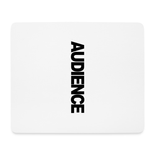 audienceiphonevertical - Mouse Pad (horizontal)