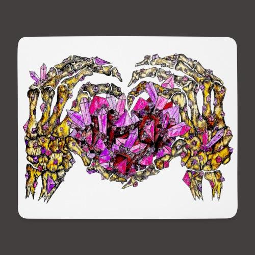 L amour Cristallin Creepy - Tapis de souris (format paysage)