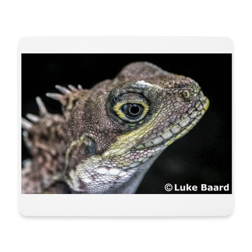 Lizard Eye - Mouse Pad (horizontal)