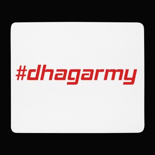 Mauspad #dhagarmy - Mousepad (Querformat)