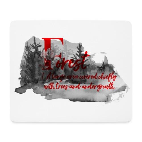 FOREST - Tapis de souris (format paysage)