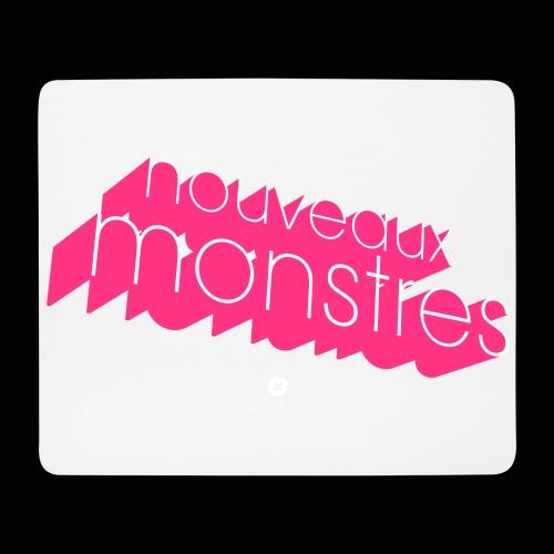 nouveaux monstres 3d 70's logo - Tapis de souris (format paysage)