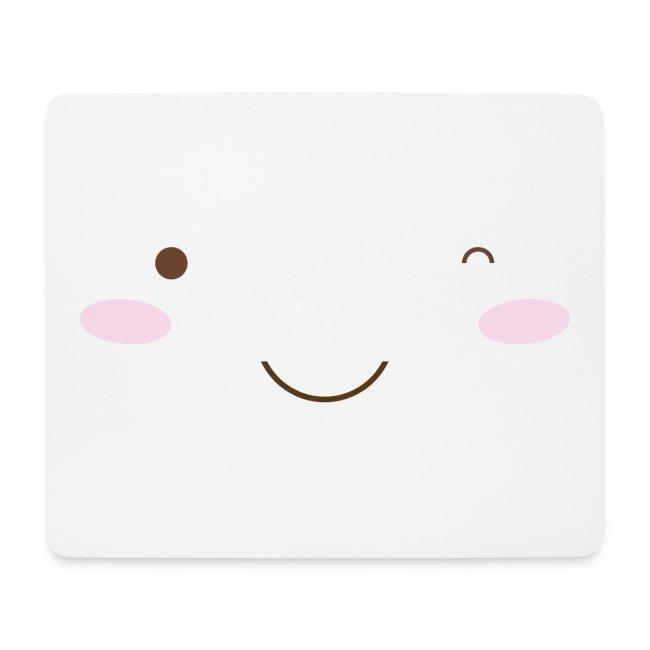 happy face wink