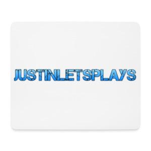 JustinLetsPlays - Mousepad (Querformat)