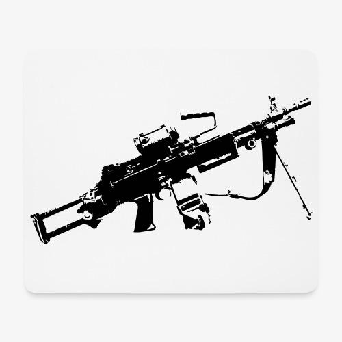 FN Minimi Para machine gun M249 SAW Kulspruta 90 - Musmatta (liggande format)