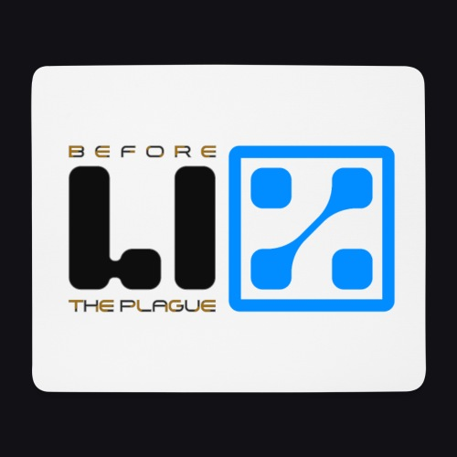 LIZ Before the Plague (Logo) - Tappetino per mouse (orizzontale)