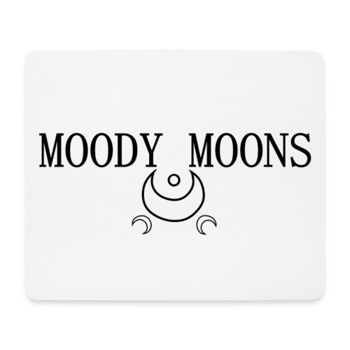 MOODY MOONS LOGO - Tappetino per mouse (orizzontale)