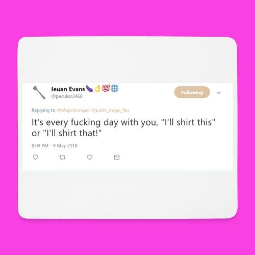 Ieuan Tweet - Mouse Pad (horizontal)