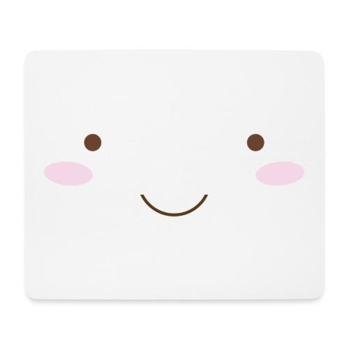 happy face - Mouse Pad (horizontal)