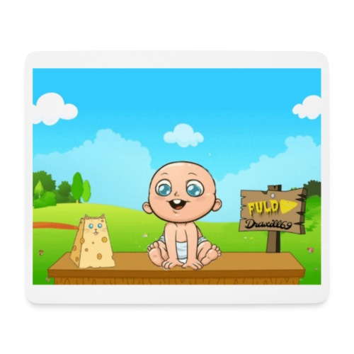 Babyfuldorale4 - Mousepad (bredformat)