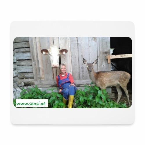 SenSi ♥ Hilfsprojekt für Kühe - Mousepad (Querformat)