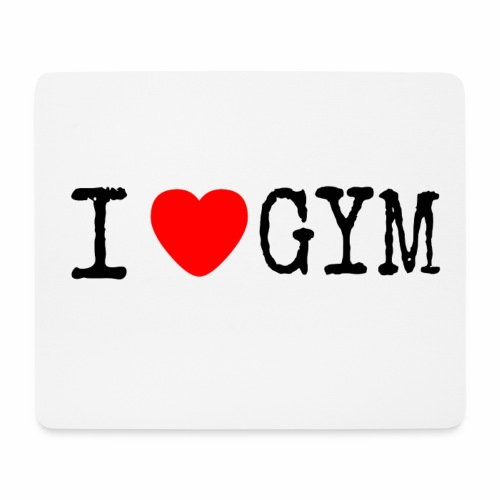 LOVE GYM - Tappetino per mouse (orizzontale)