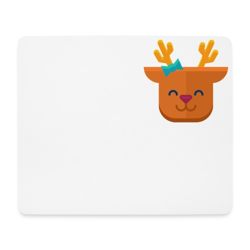 When Deers Smile by EmilyLife® - Mouse Pad (horizontal)