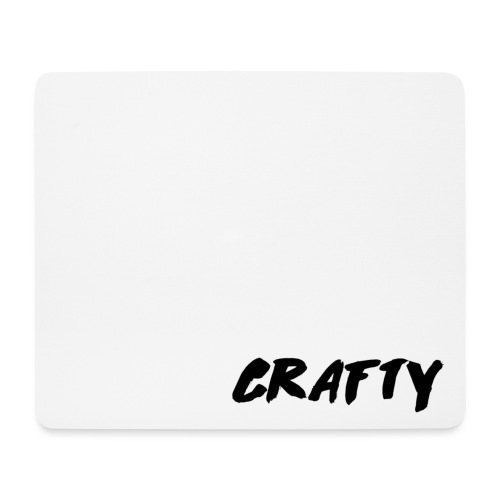 Crafty Logo Mug White png - Mouse Pad (horizontal)