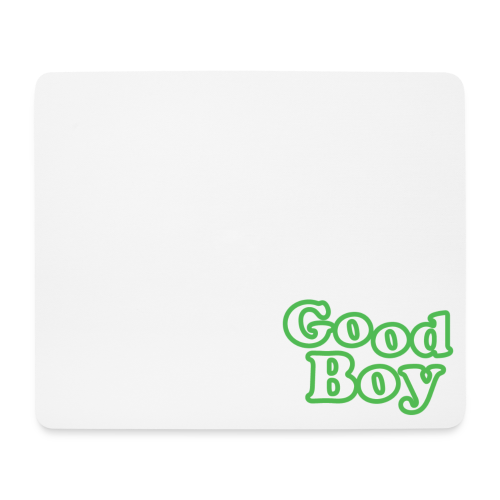 Good Boy - Mouse Pad (horizontal)